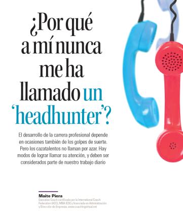 HDBR Por qué a mí nunca me ha llamado un headhunter